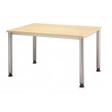 Schreibtisch RT-ERGO H-Serie - 120 x 80 cm - Ahorn