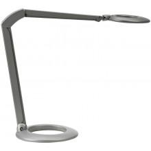 OVELO LUXO LED-Arbeitsplatzleuchte aluminiumgrau