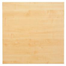 Tischplatte Ahorn 80 x 80 cm