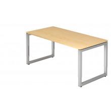 Schreibtisch RT-ERGO R-Serie - 160 x 80 cm - Ahorn